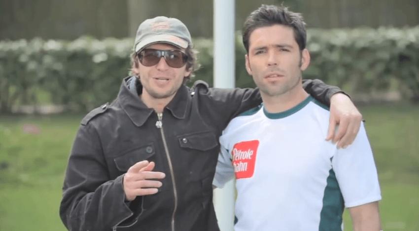Gonzague et Dimitri Yachvili<br>pour Pétrole Hahn