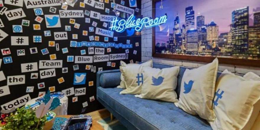 La Blue Room de Twitter