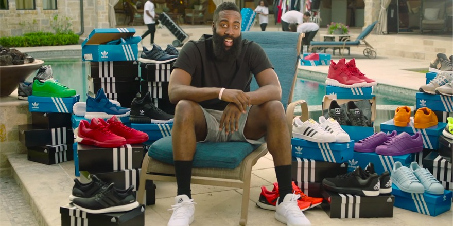 De bad buzz à barbe buzz pour Adidas et James Harden