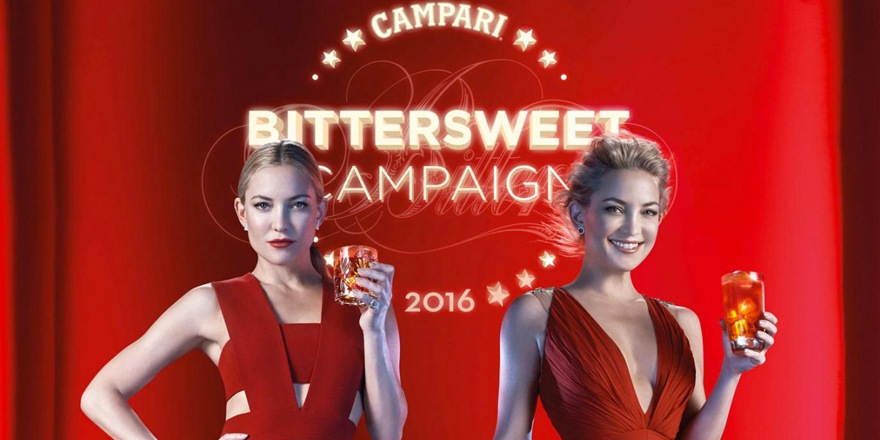 Kate Hudson fait campagne pour Campari