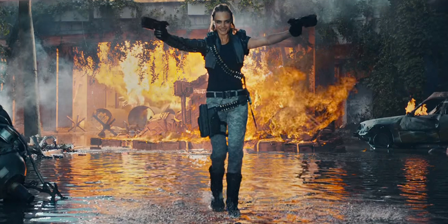 Cara Delevingne enfile son treillis pour Call Of Duty