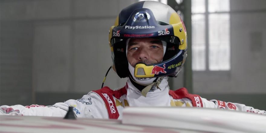 Sébastien Loeb teste la fibre SFR