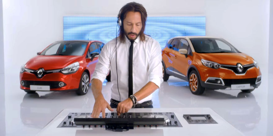 Renault et Bob Sinclar un (re)mix inattendu