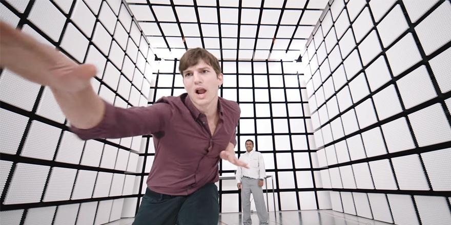 Ashton Kutcher, Lenovo porte-parole