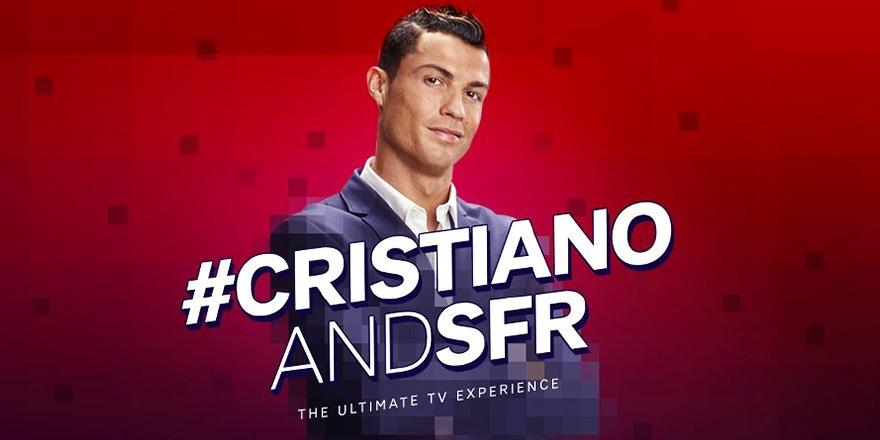 SFR piège Cristiano Ronaldo