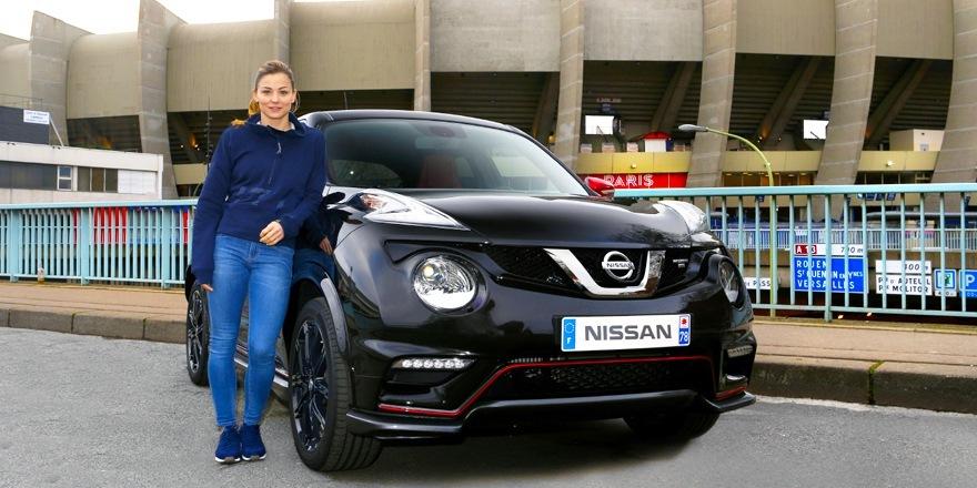 Laure va au Boulleau en Nissan