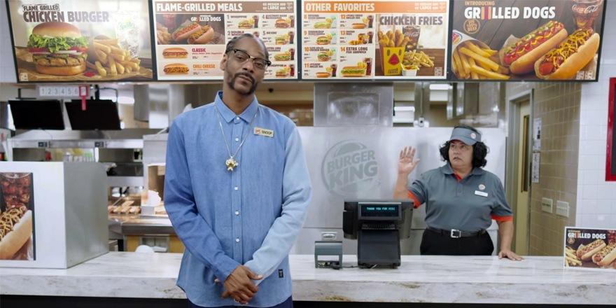Burger King : Hot (Snoop) Dogg