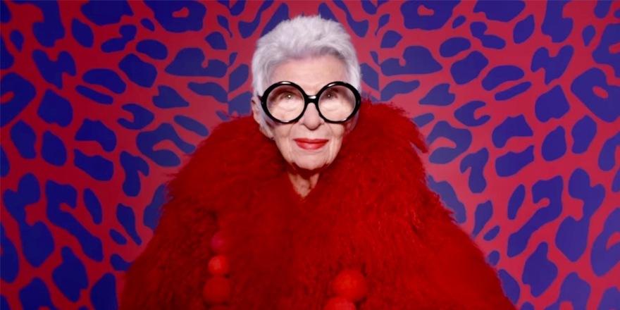 Iris Apfel, une mère-grand qui a du style