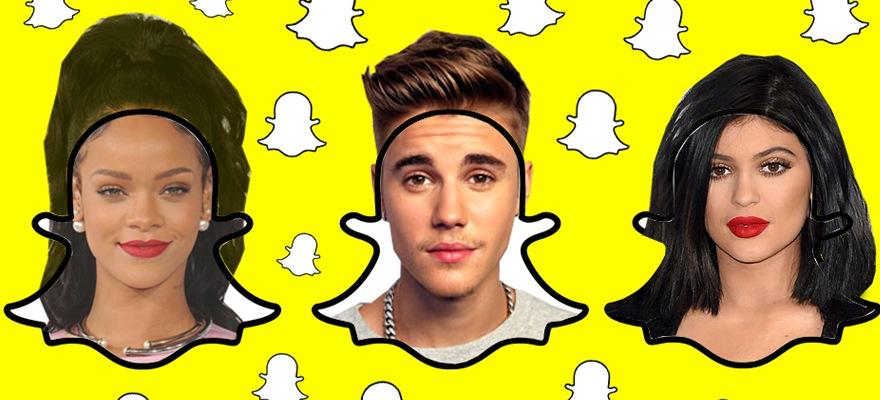 Snapchat-célébrités