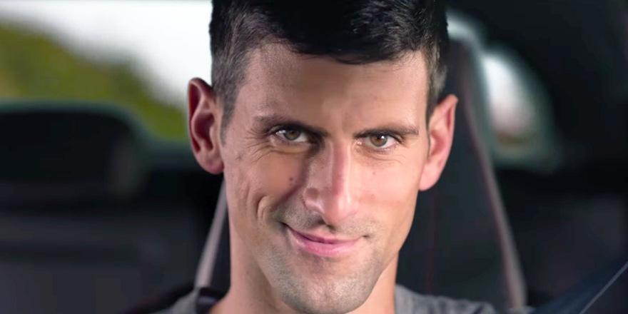 Novak Djokovic, ace du volant pour Peugeot
