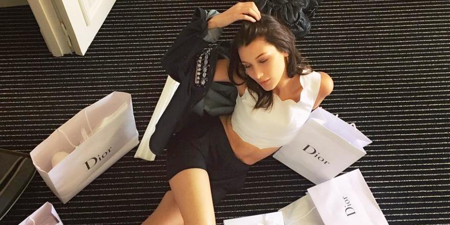 La plus Bella Hadid chez Dior Makeup