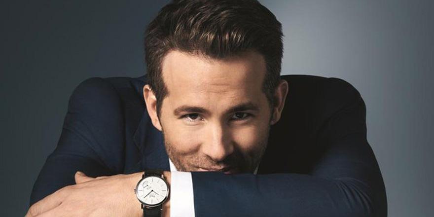 Ryan Reynolds à l'heure Piaget