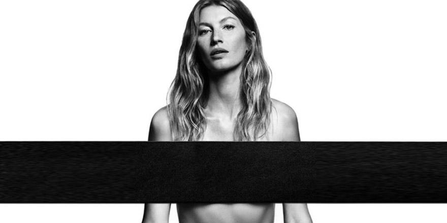 Gisele en jean Givenchy