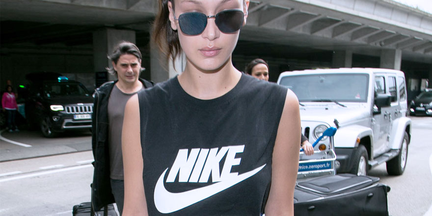 Bella Hadid rejoint la Nike Family
