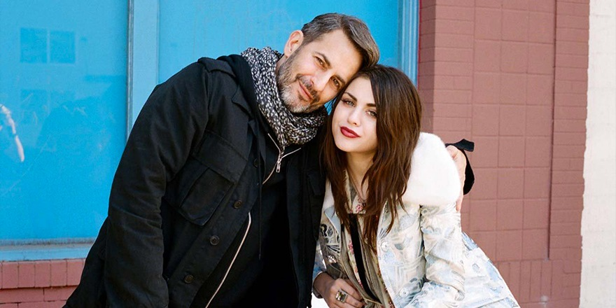 Frances Bean Cobain & Marc Jacobs