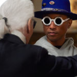 Karl Lagerfeld et son égérie, Pharrell Williams