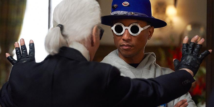 Pharrell Williams pris la main dans le sac (Chanel)