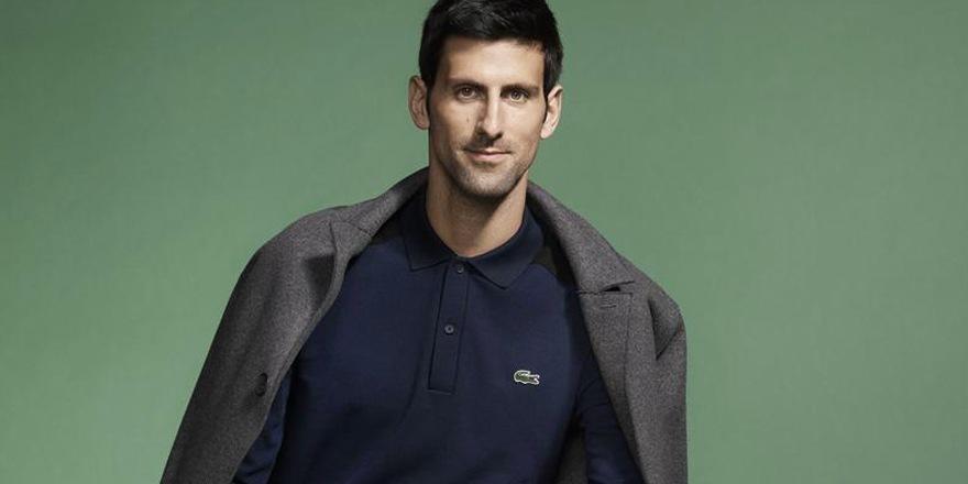 Novak Djokovic nouvelle crocoqueluche de Lacoste