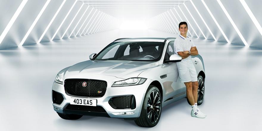 Le félin Milos Raonic roule maintenant pour Jaguar