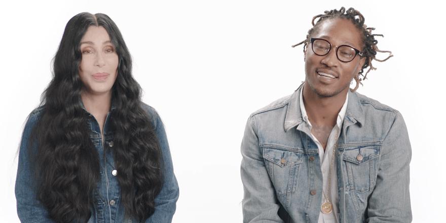 Future et Cher sont les égéries de la marque GAP.