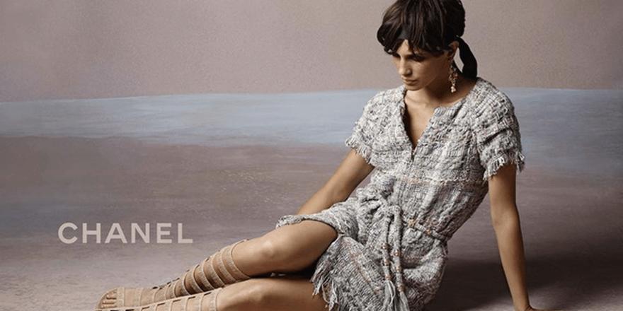 Marine Vacth : Jeune & Jolie en Chanel
