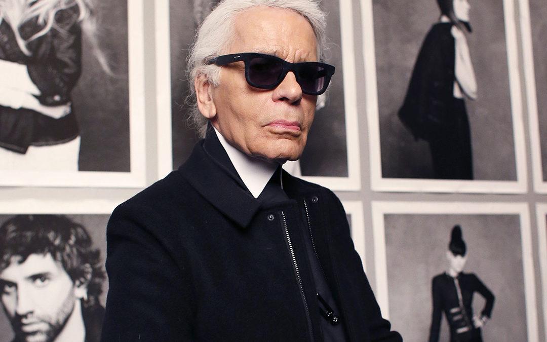 Karl Lagerfeld, homme de mode et de pub